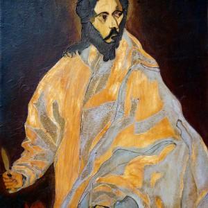 St Bartholomew, after Greco