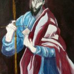 St Peter, after Greco